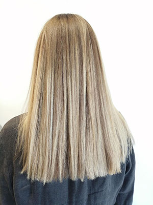 Balayage in larchmont, los angeles, california